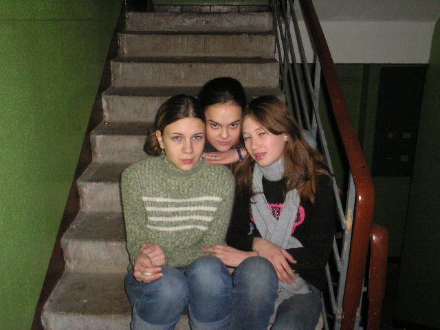 я,Санька и Лучик!