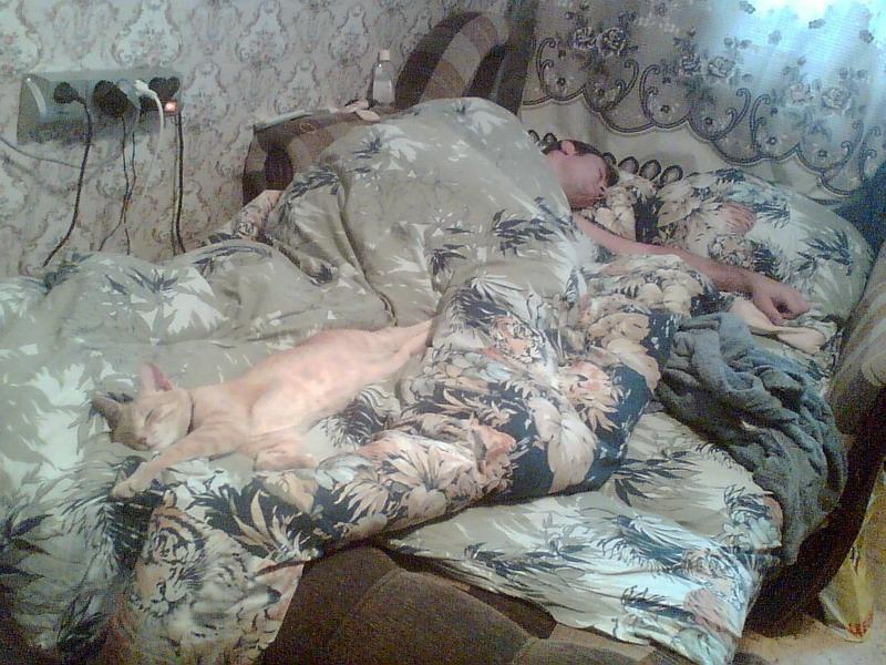 Мы поспать любим!!!