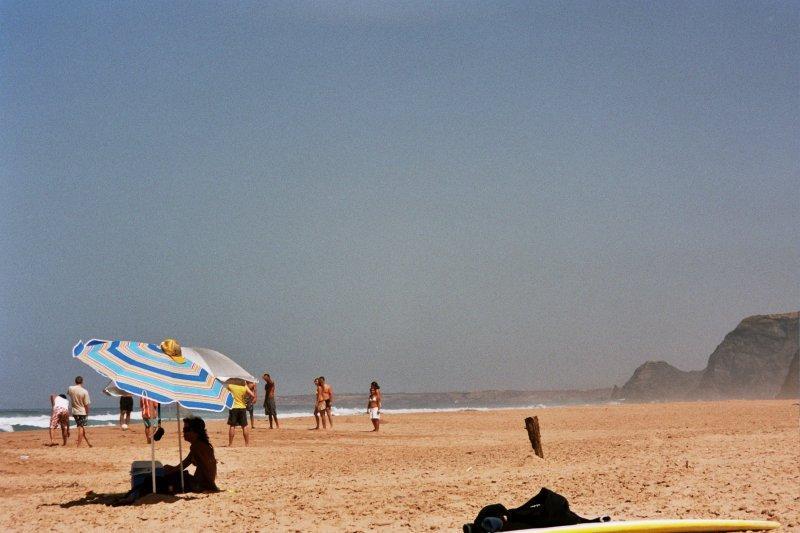 Ещё один вид на пляж