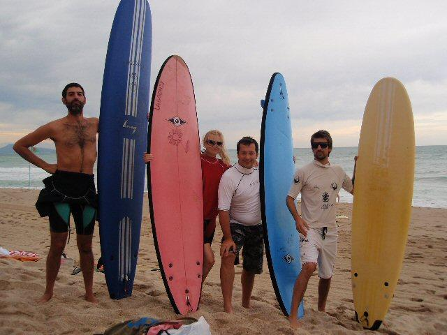 Biarritz surfers